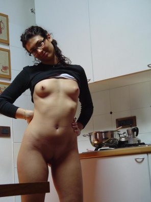amateur photo She can cook for me anytime