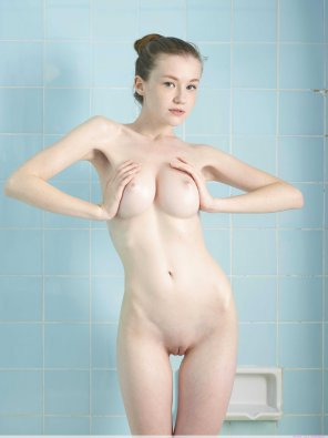 amateur photo Young, pale and perfect