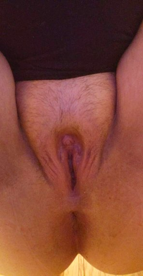 amateur photo Is my pussy good enough for masters cock? 😁