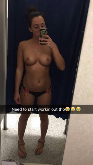 amateur photo PictureI'd be happy to help her work that off!
