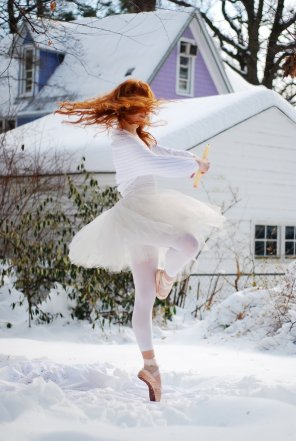 amateur photo Winter ballet