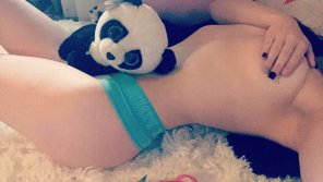 amateur photo A princess and her panda [f] 🐼❤️
