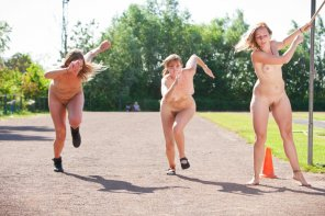 amateur photo Nude track and field