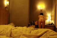 Hotel room...