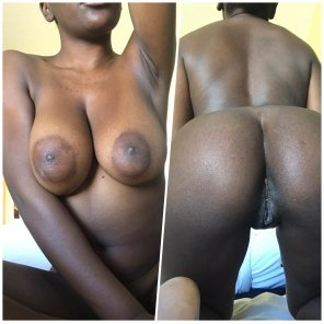 Big black booty orgy