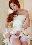amateur photo Wedding day lingerie