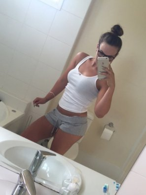 amateur photo PictureHot Girl With Glasses