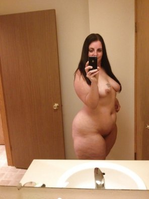 amateur photo Mirror thick