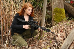 amateur photo Armed Redhead