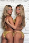 amateur photo Bia & Branca Feres