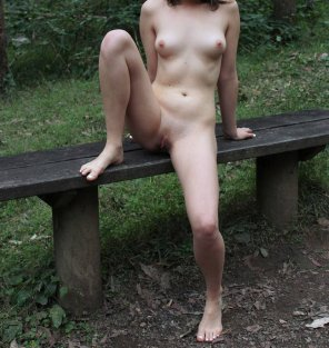 amateur photo I got naked on a public hiking trail