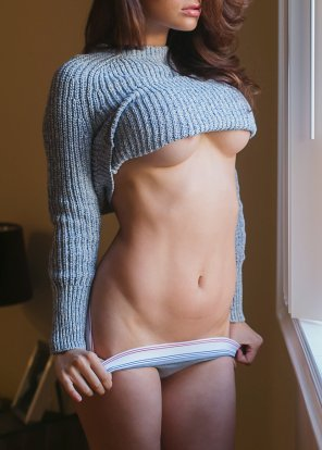 amateur photo Beautiful sweater