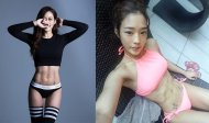 Lia Han fitness model