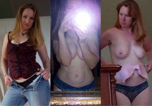amateur photo Sexy redheaded milf