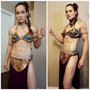 amateur photo Fit Leia
