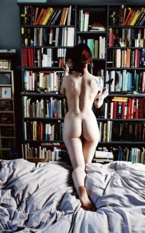 amateur photo Bookworm...