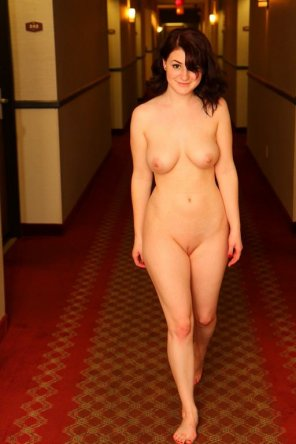 amateur photo Hotel hallway