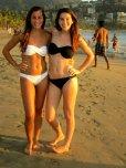 amateur photo Black bikini White bikini
