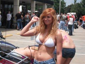 amateur photo Busty redhead