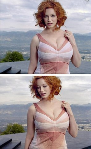 amateur photo Christina Hendricks. Obvs.