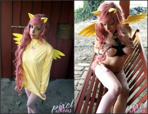 amateur photo [MLP:FiM] Humanized Fluttershy