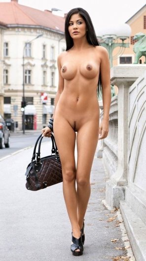 amateur photo The 'Forgot my clothes' nightmare personified