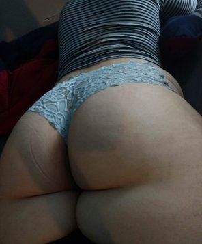 amateur photo Plump butt