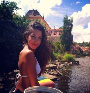 amateur photo Czech cutie.