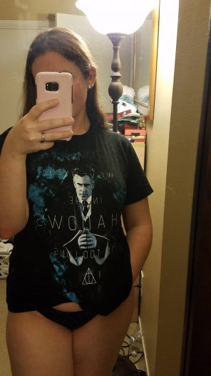 amateur photo Love my Wizarding Crate shirts [f]