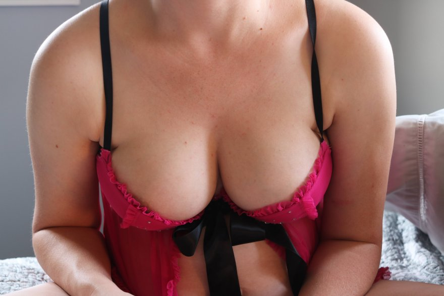 My Preggo Wife in Lingerie Porn Photo
