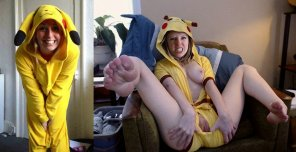 amateur photo Pikachu is a little raunchier than I remember