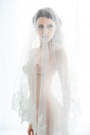 amateur photo Behind the veil
