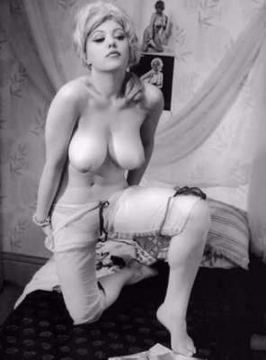 amateur photo Margaret Nolan 1960s