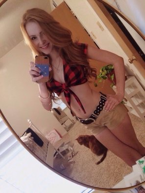 amateur photo Twin peaks ginger