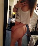 amateur photo Bottomless