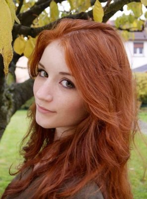 amateur photo Absolutely gorgeous natural redhead