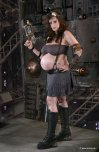 amateur photo Steampunk Preggo