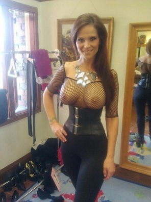 amateur photo Corset