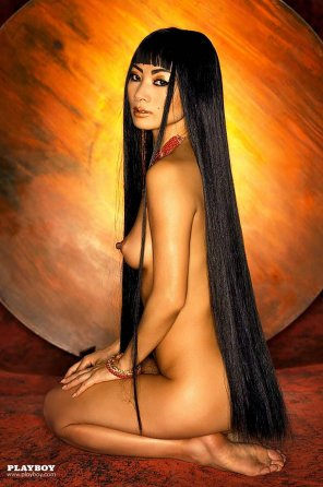 amateur photo bai ling in playboy