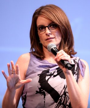 amateur photo Tina Fey at Comic Con in 2010