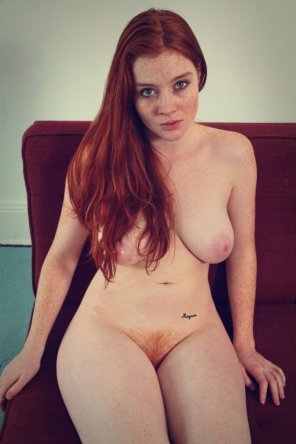 amateur photo Natural redhead