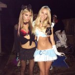 amateur photo Prestin Rose & Bryana Holly