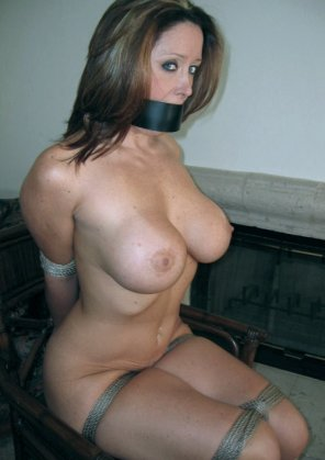 amateur photo Bound and gagged