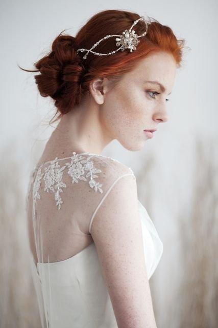 Redhead bride Porn Photo