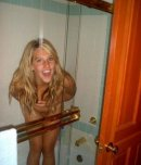 amateur photo Cutie in the shower