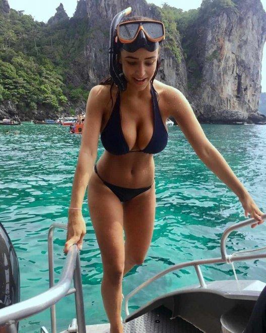 Snorkeling Porn Photo