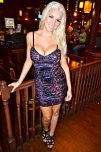 amateur photo Blonde in a tight dress