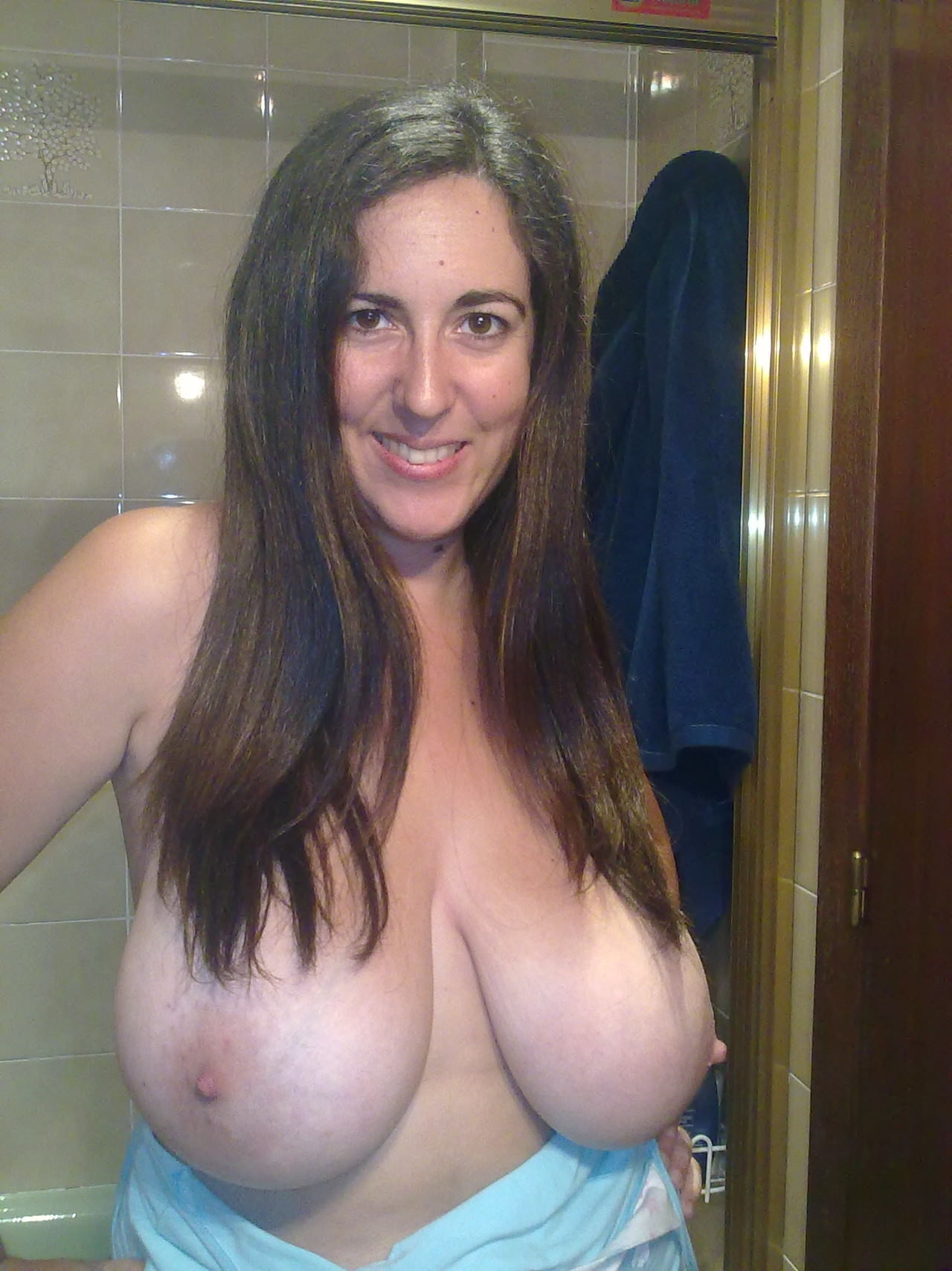 Huge milf boobs