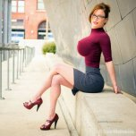 amateur photo Thin figure