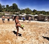 amateur photo Brazilian football